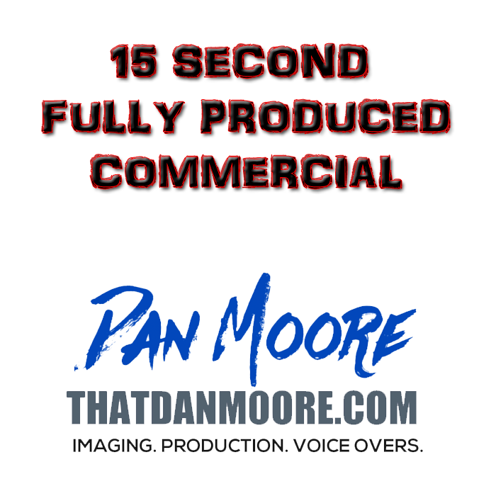 15 Second Fully Produced Commercial
