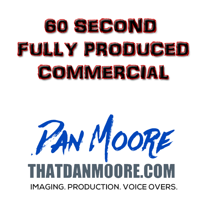 60 Second Fully Produced Commercial
